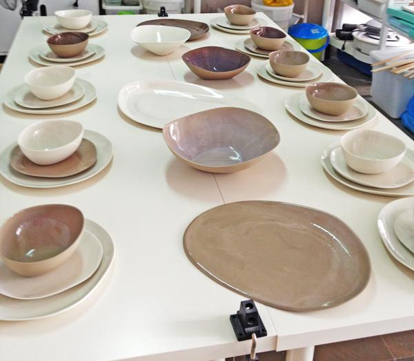 Handmade dinner set gift sponge for Handmade pots design